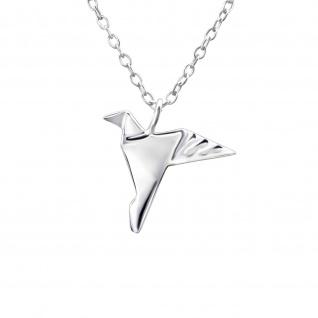 Vogel Halskette aus 925 Silber