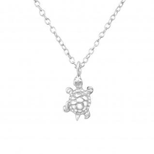 Schildkröte Halskette aus 925 Silber
