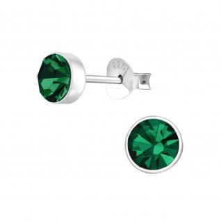 Kristall Ohrringe aus 925 Silber