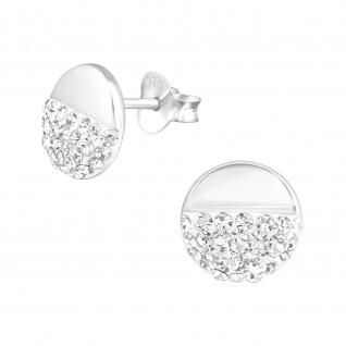 Kugel Ohrringe aus 925 Silber