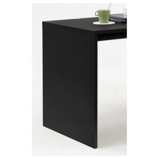 353-001 Lex SCHWARZ Schreibtisch Bürotisch Büro Winkelkombination FMD - Vorschau 3