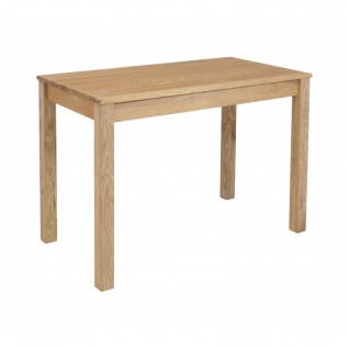 Esszimmertisch Küchentisch Tischgruppe LILLY Eiche Massiv Echtholz ca. 110 x ...