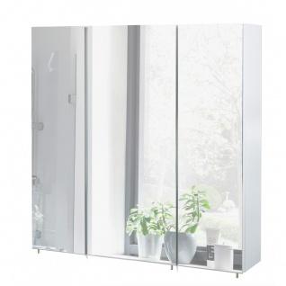 134106 SPS700.1 BASIC weiß glanz Spiegelschrank Badschrank Badspiegel Wandspi...