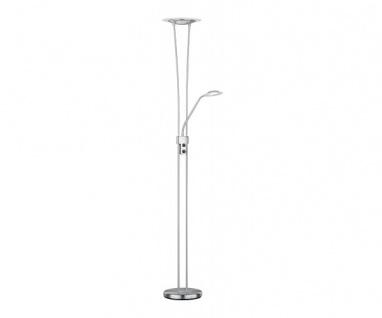 R42312107 Sky LED Fluter Stehleuchte Stehlampe Lampe nickel matt ca. 180 cm hoch