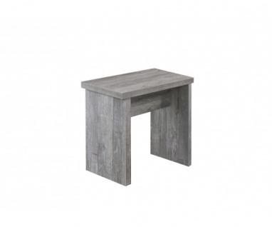 0585/45 Bank 45 beton Optik Hocker Sitzhocker Sitzbank BxHxT ca. 45 x 47 x 37 cm