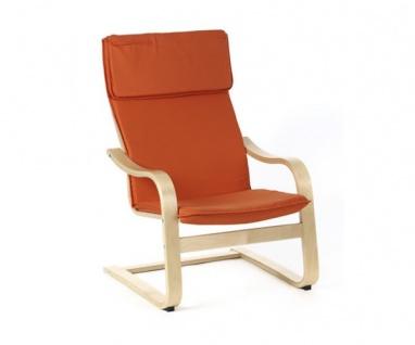95320T2 Relaxsessel Schwingstuhl terracotta Siesta