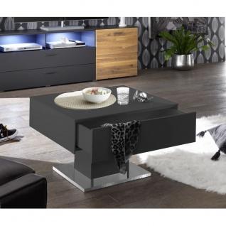 0755_CT-01-70x70 ARIZONA Anthrazit matt Lack Couchtisch Tisch Beistelltisch 7...