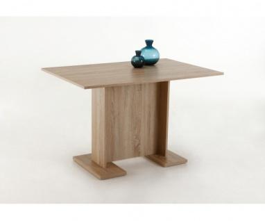 063/706 Ines Tisch Esstisch Esszimmterisch Eiche Sägerau Dekor ca. 108 x 68 cm