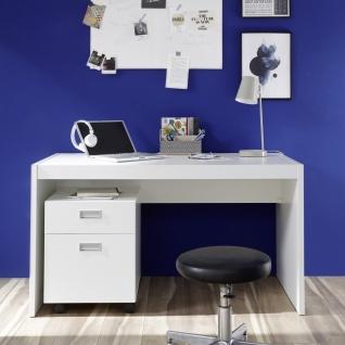 39-880-17 ALASKA Weiß Schreibtisch Kinderzimmer Tisch Jugendzimmer PC Büro ca...
