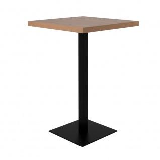 Bartisch Partytisch Beistelltisch Bistrotisch ca. 105 cm hoch QUADRATO 70 Art...