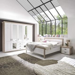 AVENUE Komplettes Schlafzimmer inkl. Kleiderschrank, Doppelbett & Nako´ s im S...