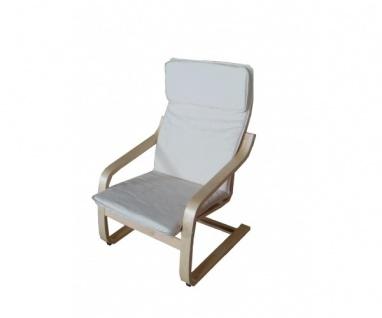 95320N2 Relaxsessel Schwingstuhl naturfarbig Siesta