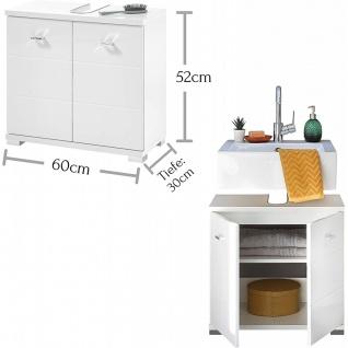 Waschbeckenschrank Unterschrank WBU Beckenschrank ca. 60 x 52 x 30 cm POOL We... - Vorschau 2