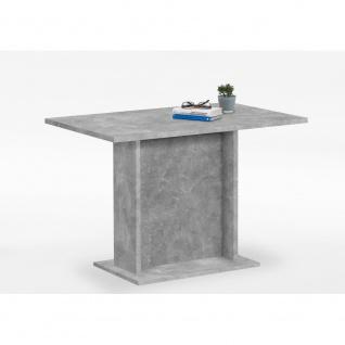668-003 BANDOL III Beton grau Nb. Tisch Esszimmertisch Küchentisch Säulentisc...