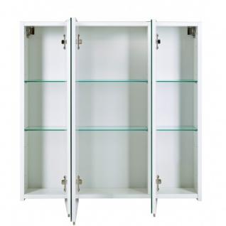 134106 SPS700.1 BASIC weiß glanz Spiegelschrank Badschrank Badspiegel Wandspi... - Vorschau 2