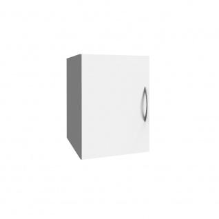 Schrank Aufsatz Multiraumkonzept in weiß mit 1 Tür, Wito Mehrzweckschrank, Kl...