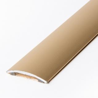 Übergangsprofil 30 mm Alu Dehnungsprofil gold-glänzend eloxiert Laminat Teppi...