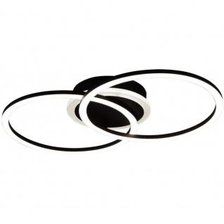 R62783132 VENIDA LED Decken Lampe Ess Zimmer Beleuchtung Küchen Strahler schw...