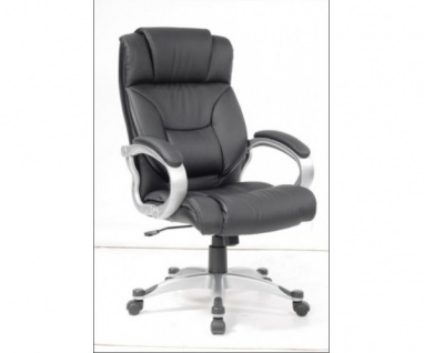 60285S3 Drehstuhl Chefsessel Bürostuhl mit Wippmechanik Keitum schwarz