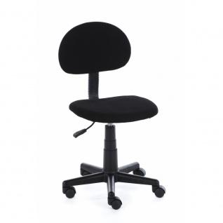 60003S4 Drehstuhl Kinderdrehstuhl Bürostuhl Alex in schwarz