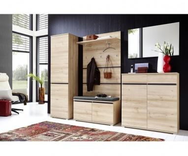 Komplette Garderobe Diele Lissabon 6tlg. Edelbuche Nb. 3471 + 3472 + 3474 + 3...