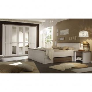 87-062-B5 LUCA Komplettes Schlafzimmer inkl. Kleiderschrank, Doppelbett & Nak...
