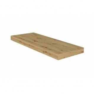 Wandboard Steckboard Hängeregal Wandregal 0521_60 Ast Eiche Nb. 60 cm breit