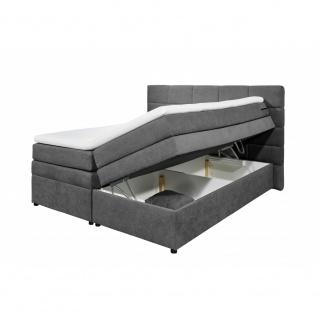Boxspringbett Doppelbett Polsterbett mit Stauraum - Bettkasten TACOMA 1 180x2...