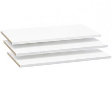 3er Set Einlegeböden Fachböden Zusatzfachböden für 58-718-05 MOON Art.Nr. 13164