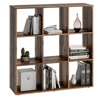 Regal Bücherregal Stauraumregal Raumteiler 248-005 MEGA 5 Old Style Dekor