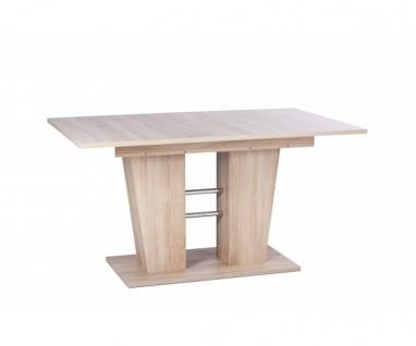 001352 Breda Esszimmertisch Esstisch Tisch Auszugtisch sonoma Eiche ca. 140 c...