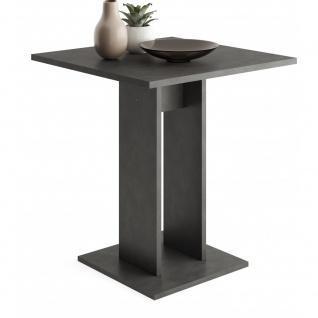 Tisch Esszimmertisch Küchentisch Beistelltisch ca. 70 x 70 cm BANDOL 1 Matera...