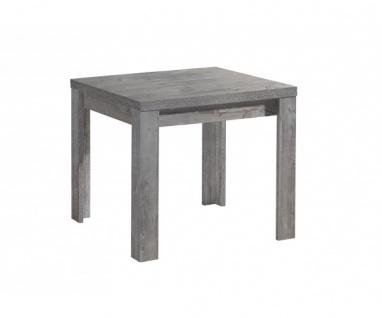 0590/80 x 80 cm Zip beton Optik Esszimmertisch Küchentisch Speisezimmer auszi...