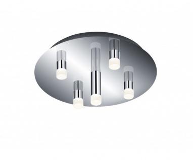 678610506 LED-Deckenleuchte ZIDANE 5 x 4, 5 Watt inkl Osram-Leuchtmittel