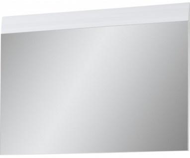 3525-84 Adana weiss Spiegel Garderobenspiegel Wandspiegel ca. 87 cm