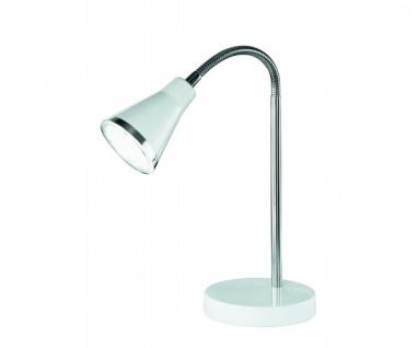 R52711101 LED Tischleuchte Nachttischleuchte Lampe ARRAS weiss 5 Watt SMD - LED