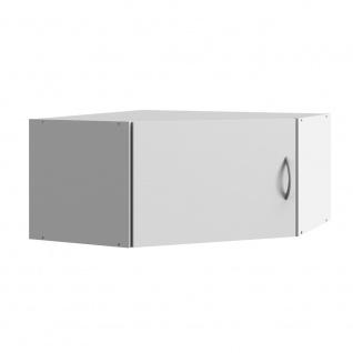 Eckschrank Aufsatz Multiraumkonzept in weiß, Wito Mehrzweckschrank mit 1 Tür,...