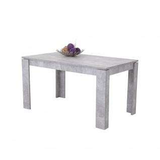 004225 ALEXA I T Beton grau Tisch Esszimmertisch Küchentisch Beistelltisch Vi...