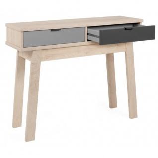Konsole Tisch Beistelltisch Schminktisch 003048 EPIK 40 Elegance Endgrain / G...