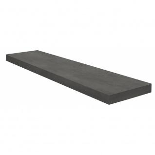 Wandboard Steckboard Wandregal Hängeregal 0521_90 Graphit 90 cm breit