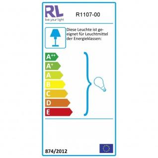 R1107-00 Kronleuchter Lüster chrom, transparent klar 5x E14 Höhe ca. 150 cm D... - Vorschau 4