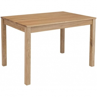 Esszimmertisch Küchentisch Tischgruppe LILLY Eiche Massiv Echtholz ca. 160 x ...