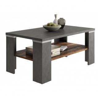 Beistelltisch Tisch Wohnzimmertisch ca. 100 cm BASTIA Matera grau / Old Style...