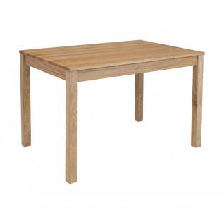 Esszimmertisch Küchentisch Tischgruppe LILLY Eiche Massiv Echtholz ca. 120 x ...