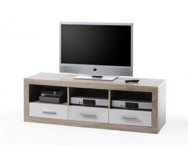 45-646-68 Can Can Lowboard TV - Regal Kommode Sideboard Eiche Sägerau ca. 147...