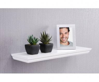 001438 Landwood weiß Wandboard Steckboard Wandregal Hängeregal ca. 60 cm breit