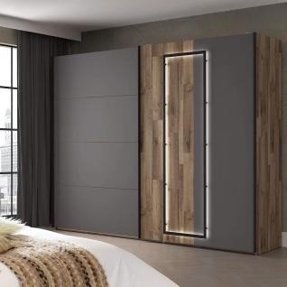 Schwebetüren Schrank Schiebetüren Schlafzimmer Stauraum ca. 270 cm SIRIUS Sta...
