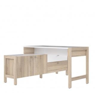 Schreibtisch Bürotisch Arbeitstisch Winkeltisch ca.170 x 77 x 138 cm Sonoma E...
