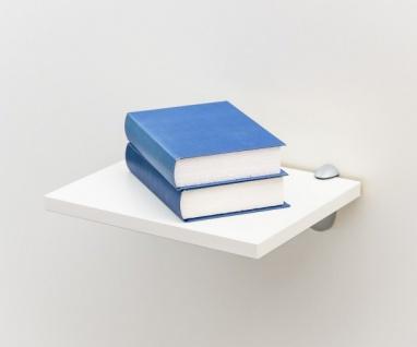 EVA Weiss ca. 30 x 1, 9 x 24 cm Hängeregal Wandregal Wandboard Bücherregal