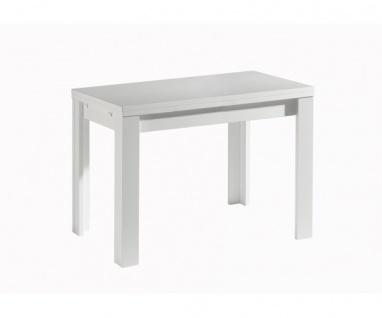 0590 / 110 x 60 cm weiss Deal ZIP Esszimmertisch Küchentisch Speisezimmer aus...